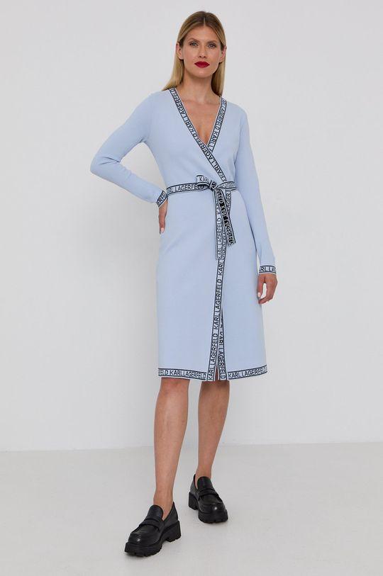 Karl Lagerfeld - Sukienka jasny niebieski
