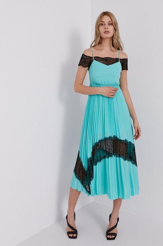 turkusowy Karl Lagerfeld - Sukienka Damski