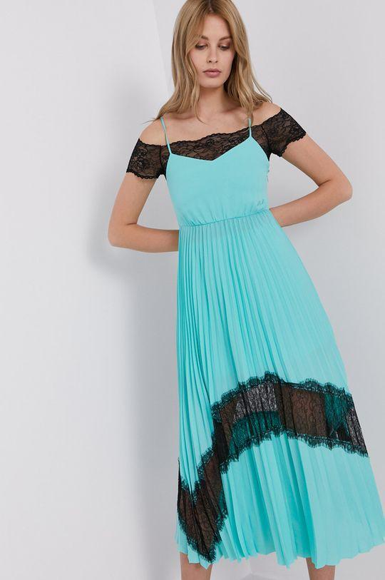 Karl Lagerfeld - Sukienka turkusowy