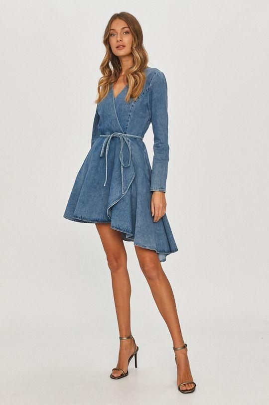 Miss Sixty - Rochie jeans albastru
