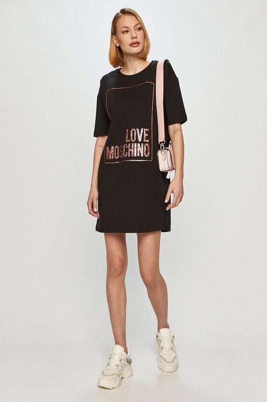 Love Moschino - Sukienka czarny