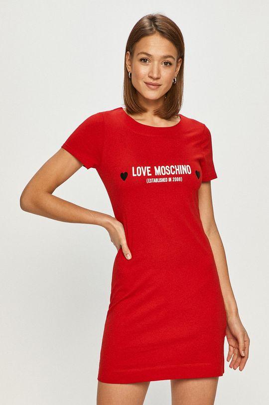 červená Love Moschino - Šaty Dámský