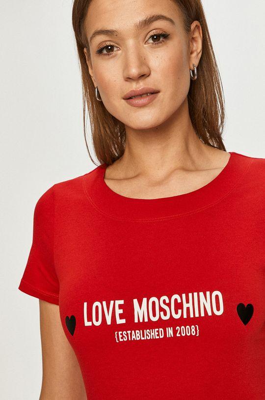 červená Love Moschino - Šaty