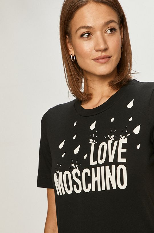czarny Love Moschino - Sukienka