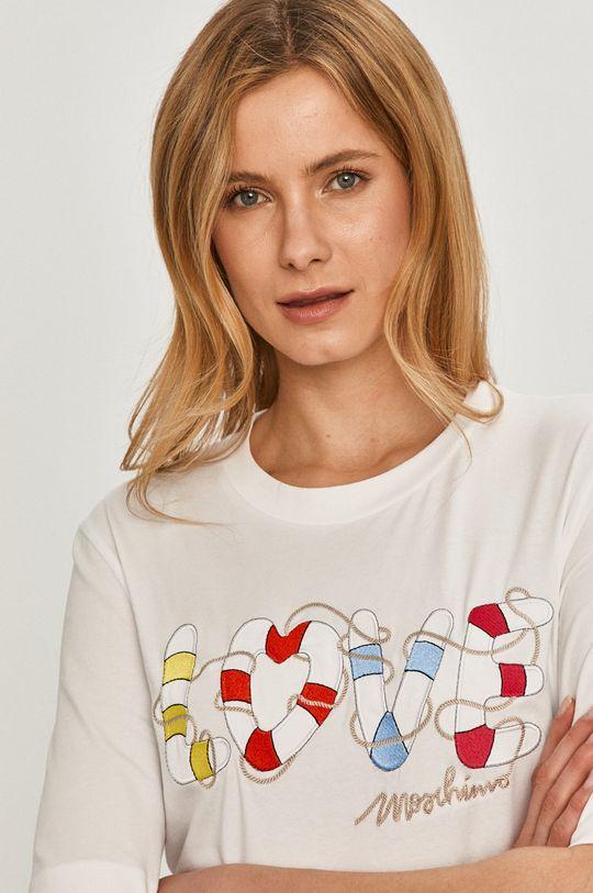 biały Love Moschino - Sukienka