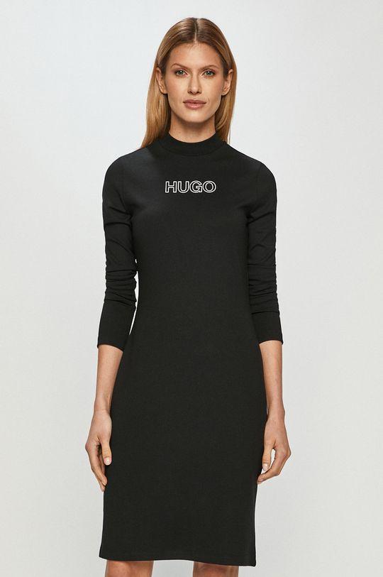 čierna Hugo - Šaty Dámsky