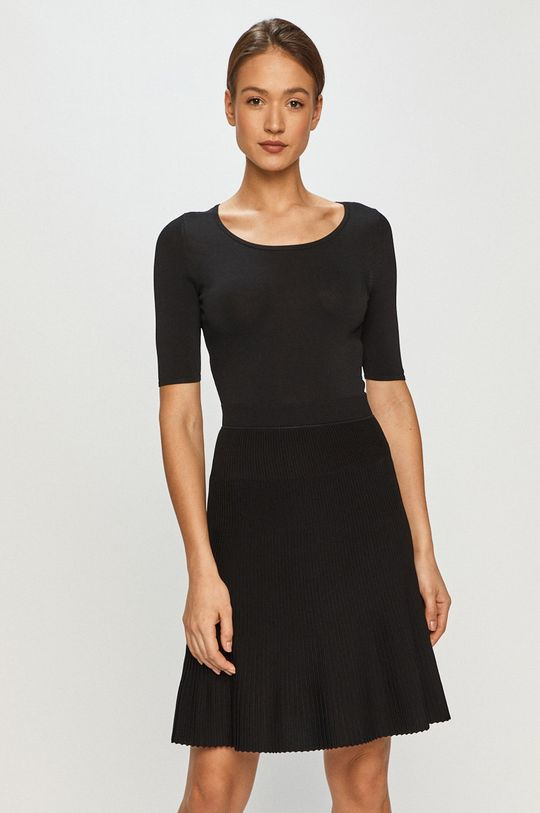 czarny Hugo - Sukienka Damski