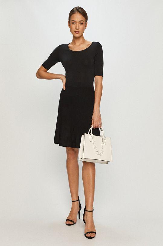 Hugo - Sukienka czarny