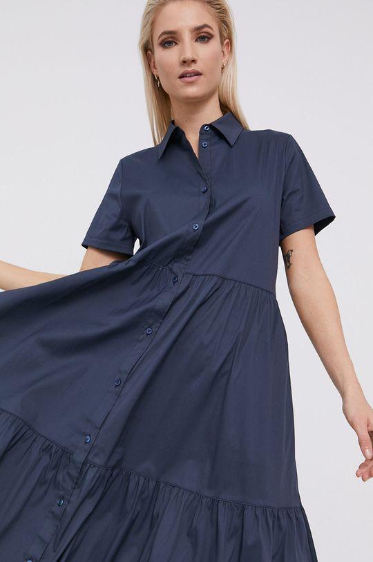 granatowy Hugo - Sukienka