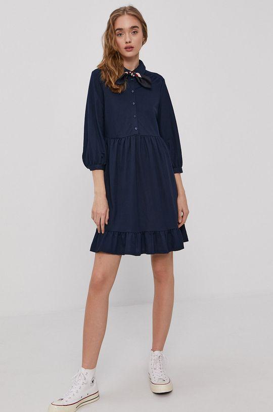 Vero Moda - Sukienka granatowy