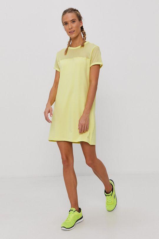 žlutě zelená Dkny - Šaty Dámský