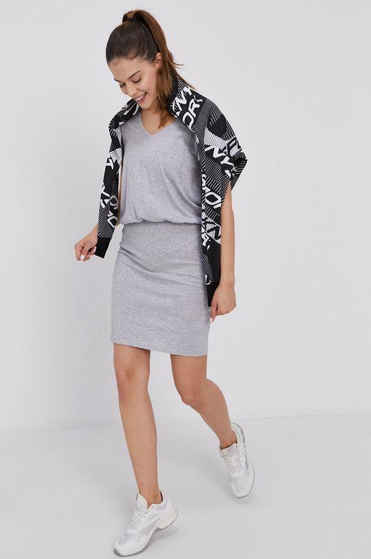Dkny - Sukienka 60 % Bawełna, 40 % Modal