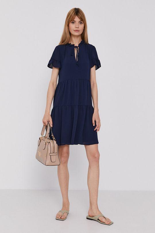 Dkny - Šaty námořnická modř