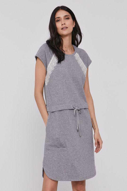 Dkny - Šaty sivá