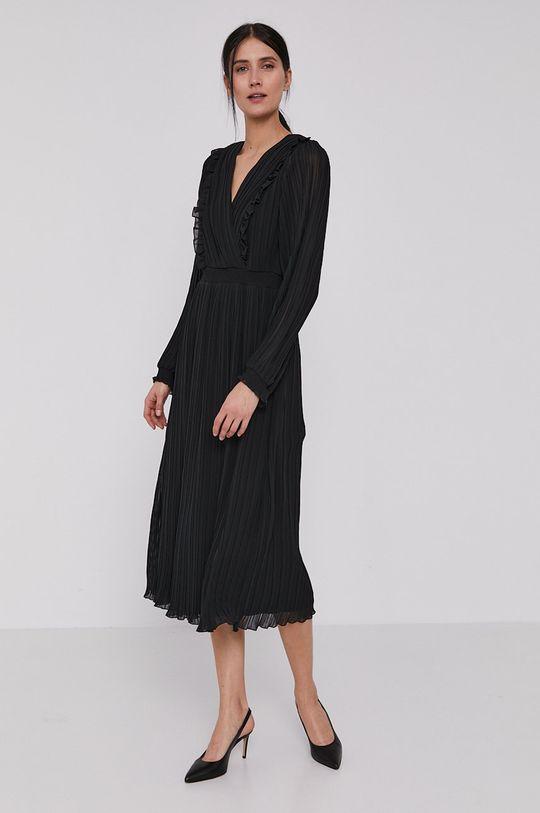 Dkny - Sukienka czarny