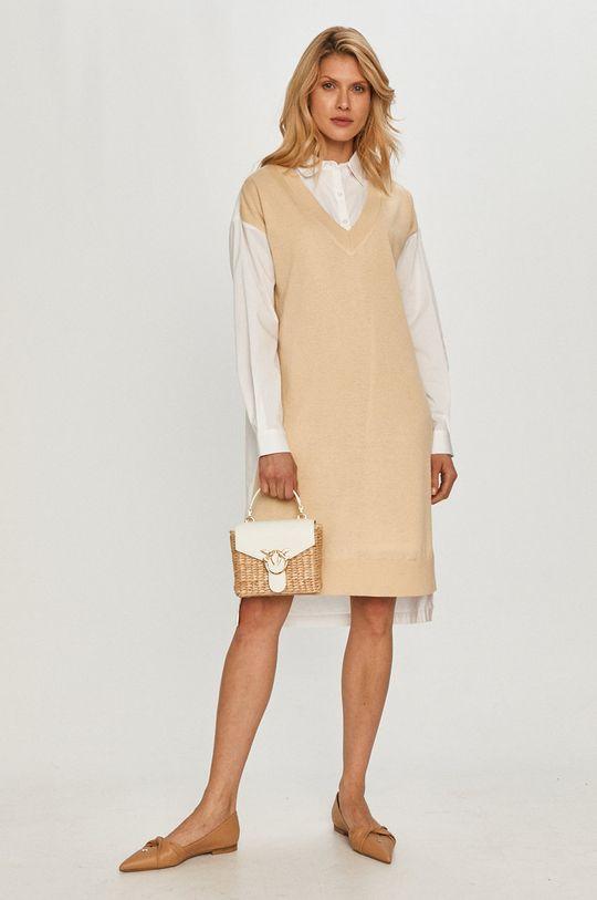 Dkny - Šaty bílá