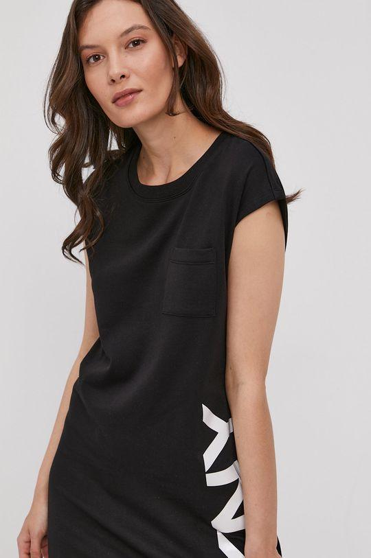 czarny Dkny - Sukienka