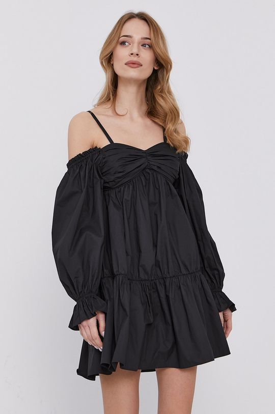 czarny Patrizia Pepe - Sukienka