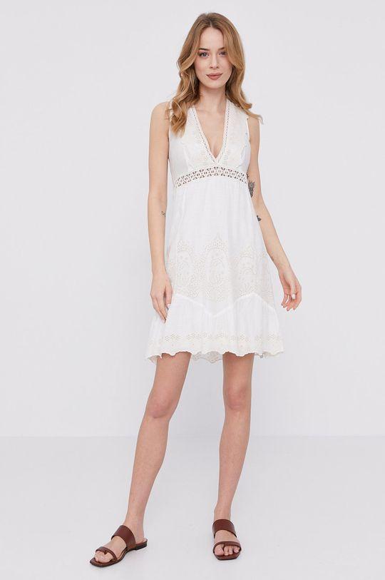 Patrizia Pepe - Sukienka biały