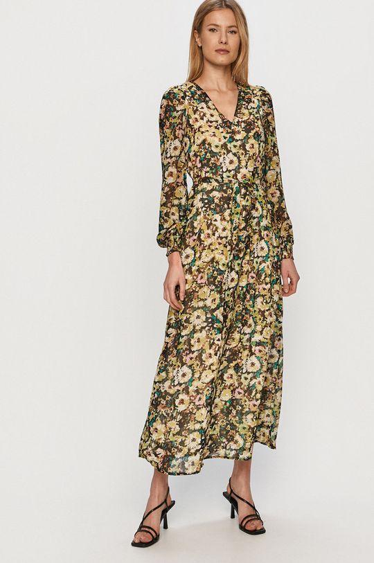 tyrkysová Vero Moda - Šaty Dámský