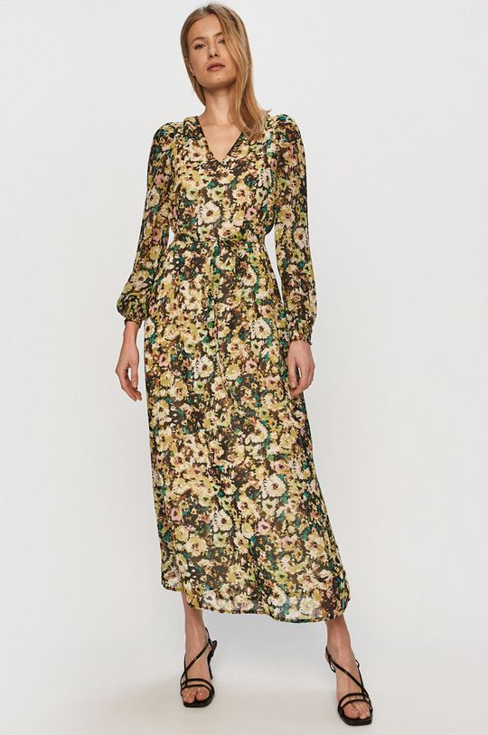 Vero Moda - Šaty  43% Polyester, 57% Recyklovaný polyester
