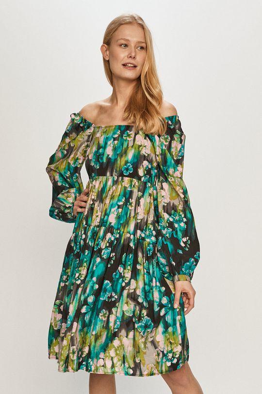 zelená Vero Moda - Šaty Dámský