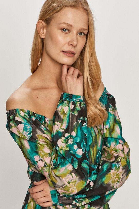 zelená Vero Moda - Šaty