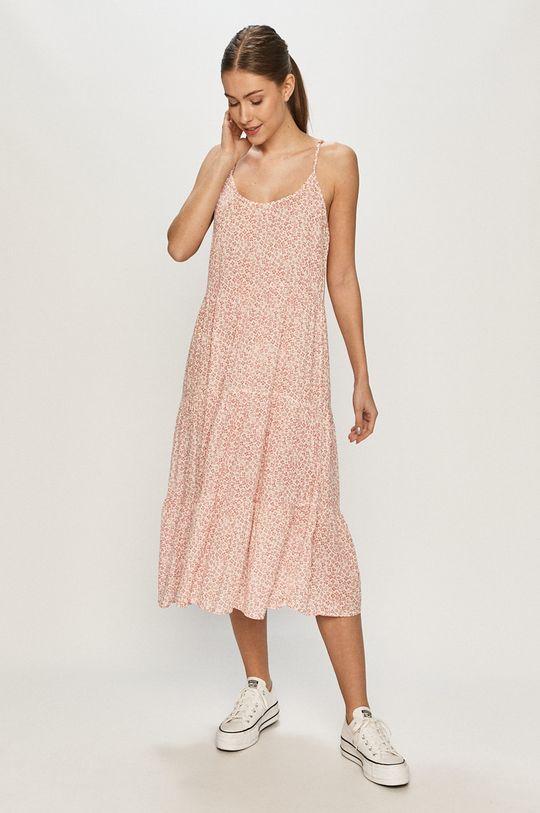 růžová Vero Moda - Šaty Dámský