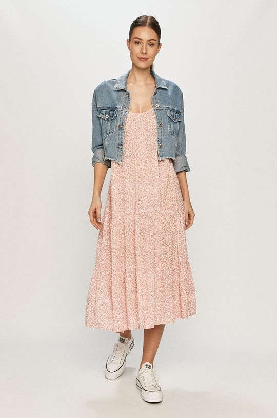 Vero Moda - Šaty růžová