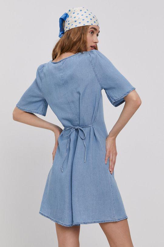 modrá Vero Moda - Šaty Dámský
