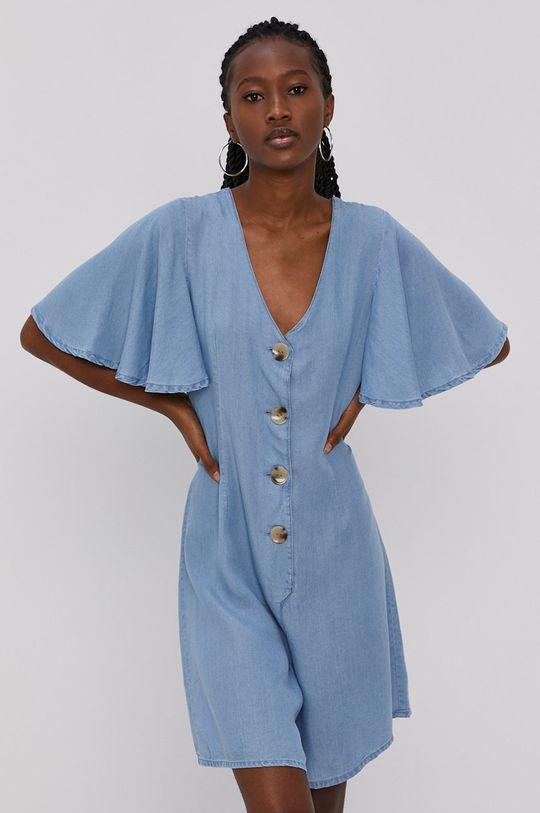 niebieski Vero Moda - Kombinezon Damski