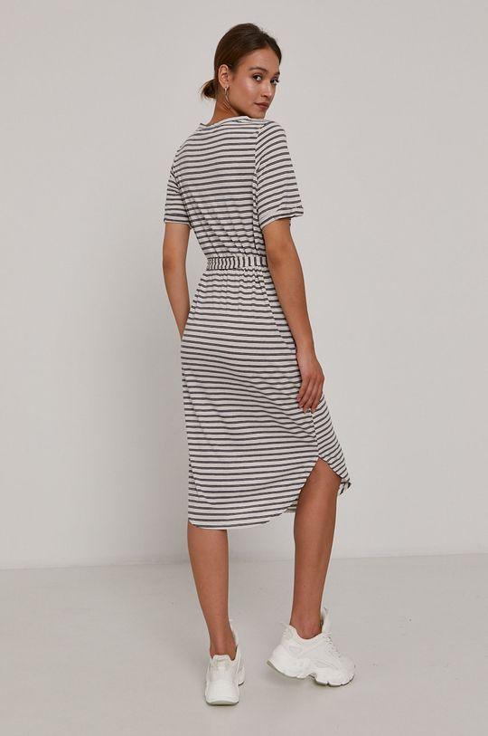 Vero Moda - Šaty  12% Len, 88% Recyklovaný polyester