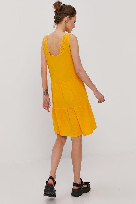 oranžová Vero Moda - Šaty Dámsky