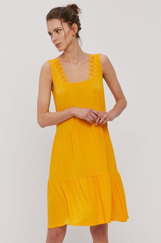 Vero Moda - Šaty oranžová