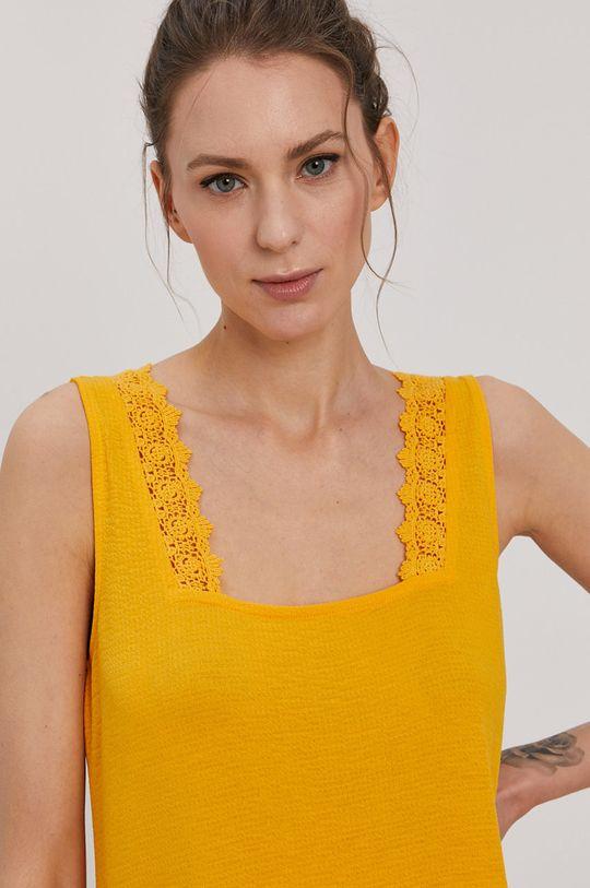 oranžová Vero Moda - Šaty