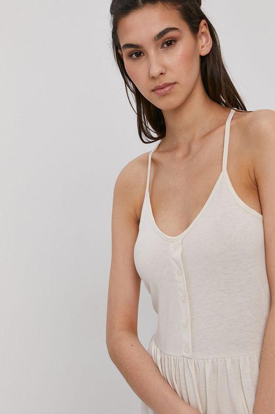 krémová Vero Moda - Šaty