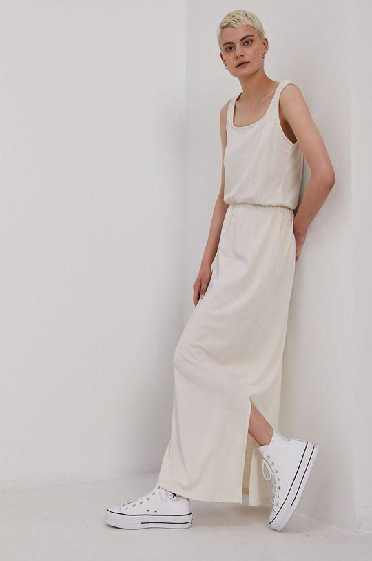 krémová Vero Moda - Šaty Dámsky