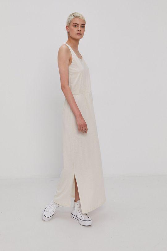 Vero Moda - Šaty krémová