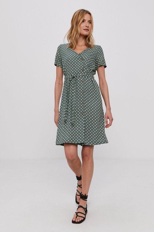 Vero Moda - Šaty tyrkysová modrá