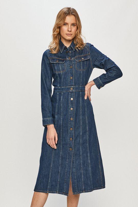 tmavomodrá Lee - Rifľové šaty Dámsky