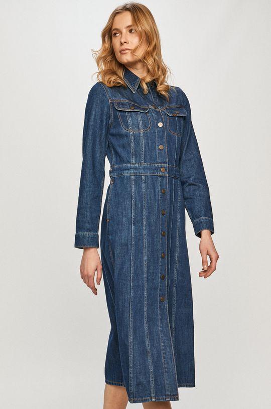 tmavomodrá Lee - Rifľové šaty
