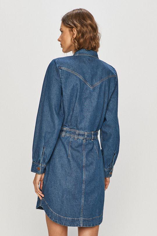 Wrangler - Sukienka jeansowa 100 % Bawełna