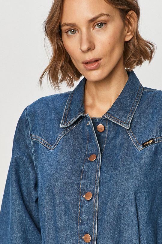 niebieski Wrangler - Sukienka jeansowa