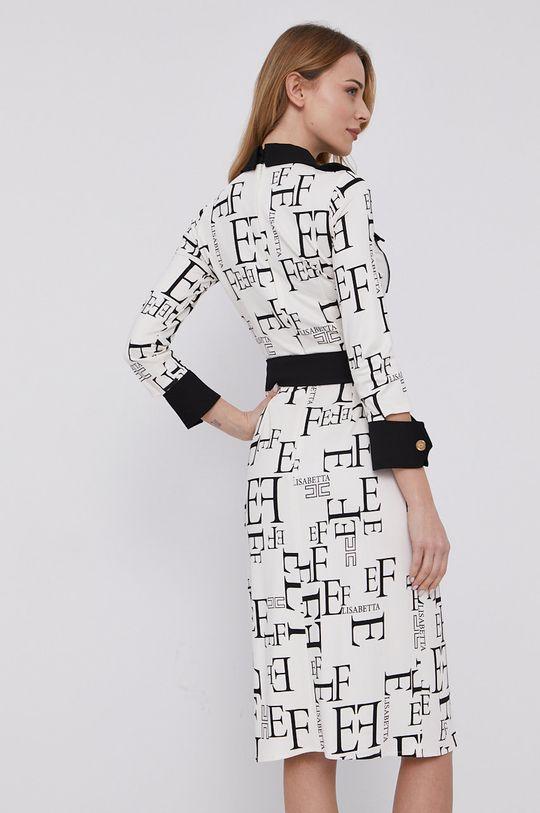 Elisabetta Franchi - Sukienka Materiał zasadniczy: 6 % Elastan, 94 % Wiskoza, Inne materiały: 100 % Poliester