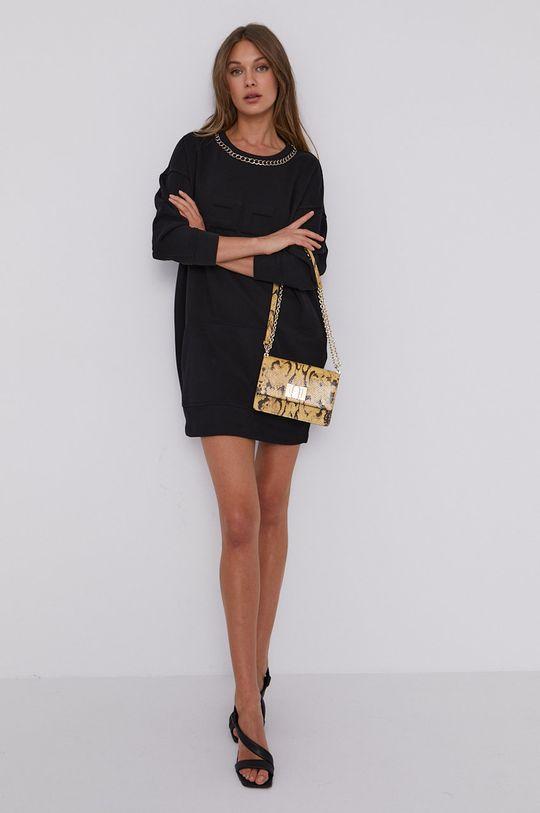 čierna Elisabetta Franchi - Šaty