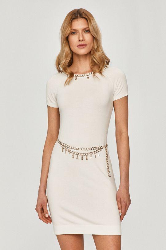 Elisabetta Franchi - Sukienka biały