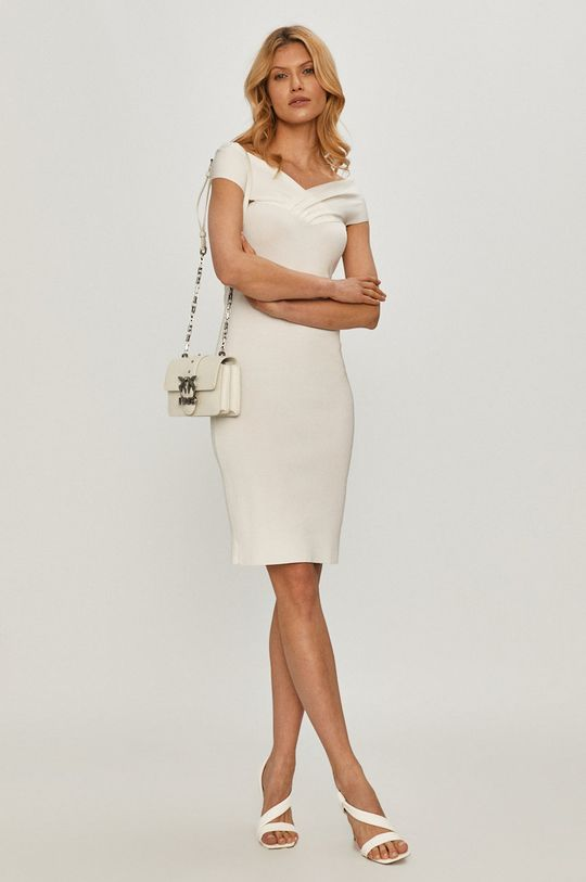 biały Elisabetta Franchi - Sukienka Damski