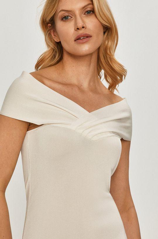 biały Elisabetta Franchi - Sukienka