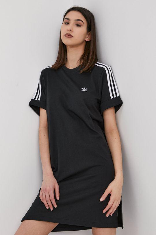 čierna adidas Originals - Šaty Dámsky