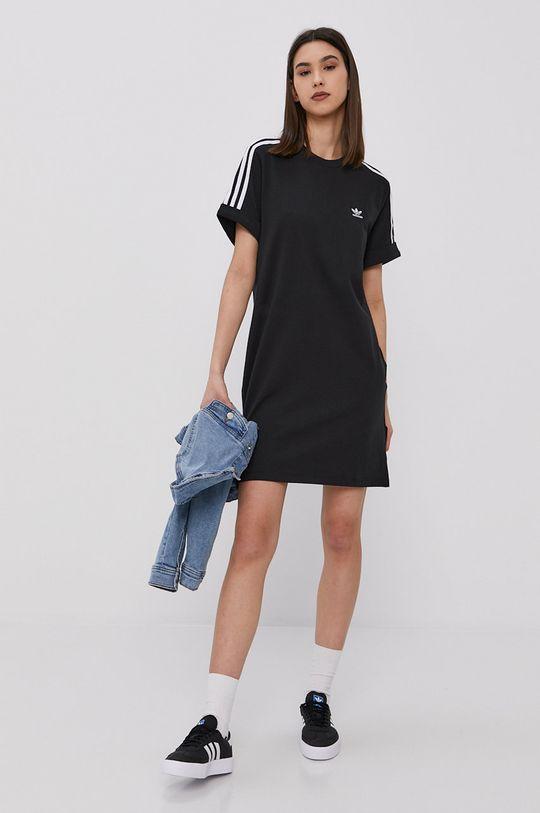 adidas Originals - Šaty čierna